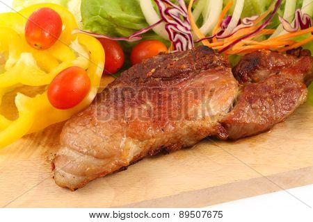 Roast Pork With Vegetable