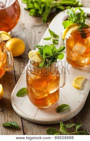 Homemade Iced Tea And Lemonade