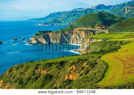 California Coastal Highway 1