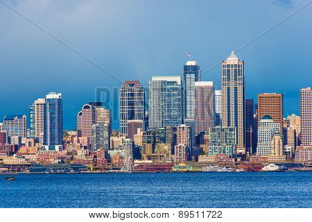 Downtown Seattle Skyline