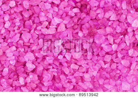 Lavender Aroma Salt Background