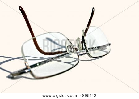 Spectacles Laying On A Clean Surface