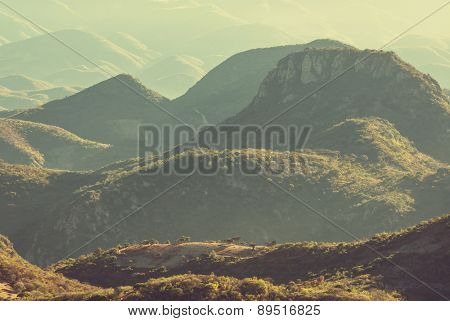 Mountains in Mexico