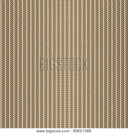 Seamless Knitted Beige Background