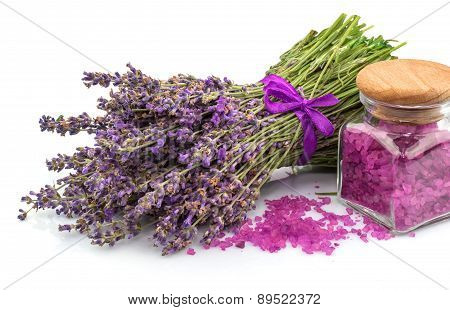 Spa Natural Product, Lavender, Aroma Salt