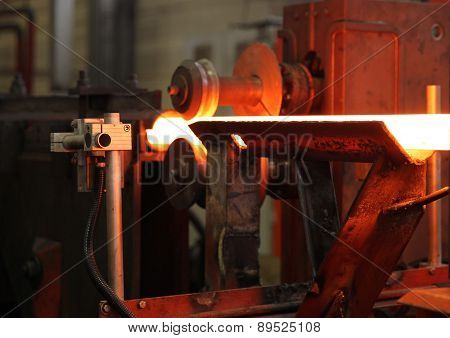 Moving The Heated Metal