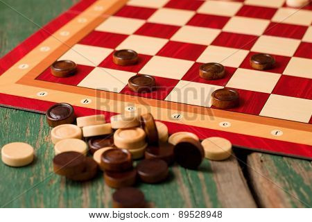 Heap Of Stones For Game Of Checkers