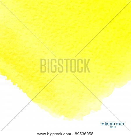yellow watercolor squarer background