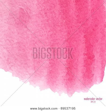 pink watercolor squarer background