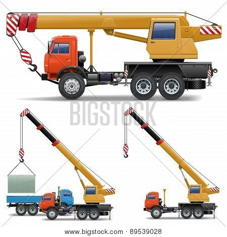 Vector Construction Machines Set 5