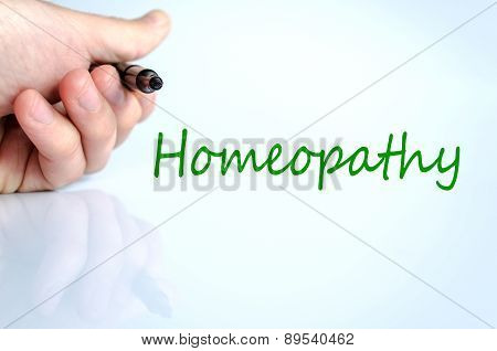 Homeopathy Concept