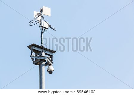 Cctv Ip Camera With Wireless Network