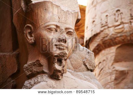 Pharaoh Ramses II statue