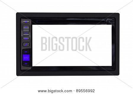 Car Radio Control Panel