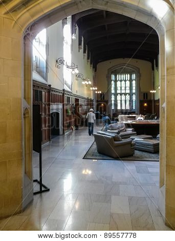 Reading Room In Campus At Princeton University