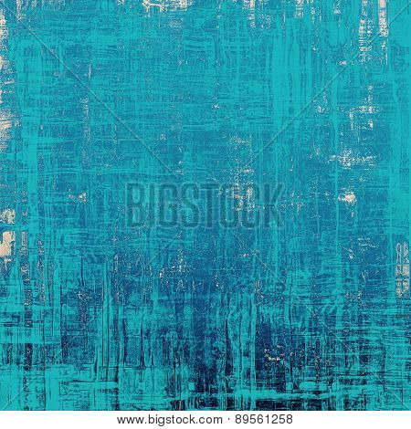 Grunge texture, may be used as background. With different color patterns: gray; cyan; blue