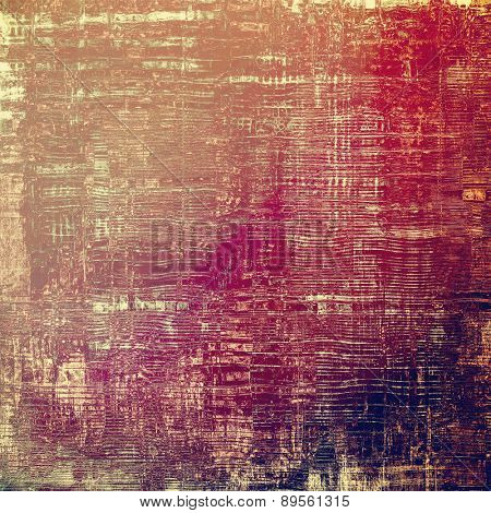 Grunge background or texture for your design. With different color patterns: brown; purple (violet); pink; red (orange)