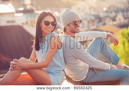 Enjoying Time Together.