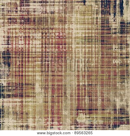 Antique vintage texture, old-fashioned weathered background. With different color patterns: yellow (beige); brown; gray; black
