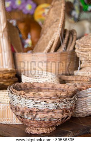 Brazilian wicker handcrafts