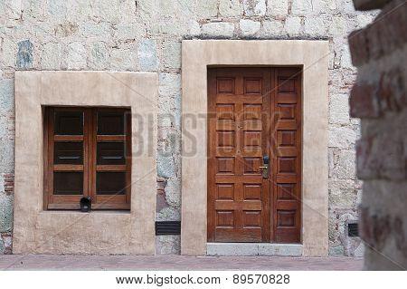 View of a door
