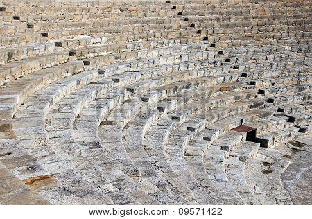Greek-roman Theater In Kourion, Cyprus