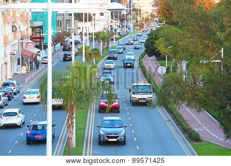 Limassol Evening Traffic