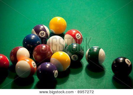 Pool Table Balls