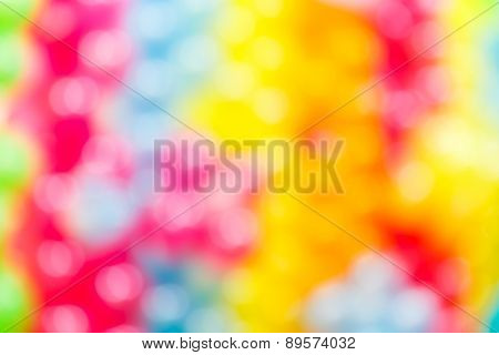 Blurred Colorful Balloon Background