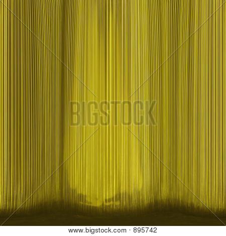 Golden Curtain Texture