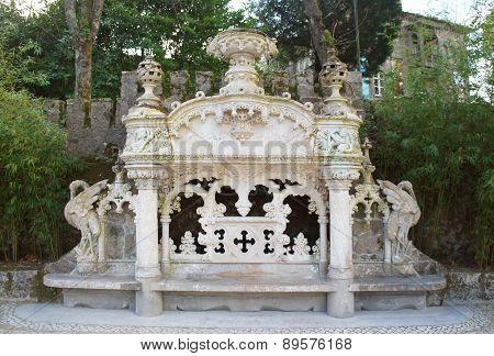 Quinta Da Regaleira Bench