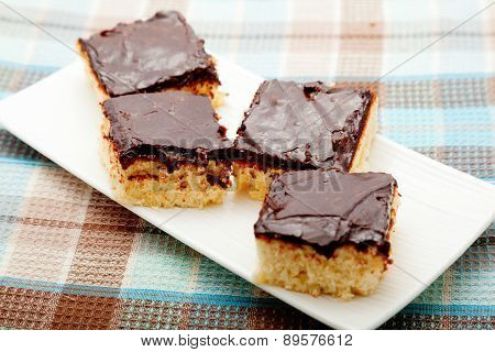 Coconut Cake With Chocolate