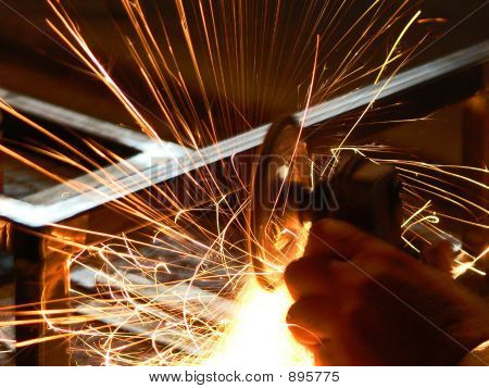 Schleifen Stahl 3