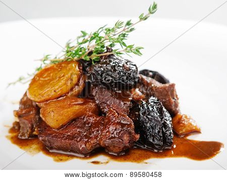 Veal With Dried Fruits