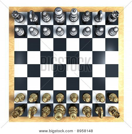 Chess Top View