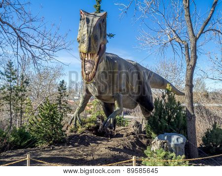 Animatronic Dinosaurs exhibits