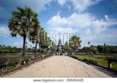 Angkor Wat At Siem Reap, Cambodia