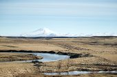 pic of iceland farm  - View of mountains - JPG