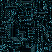 picture of circuits  - Seamless pattern - JPG