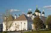 foto of trinity  - Trinity Cathedral in Astrakhan Kremlin in Russia - JPG