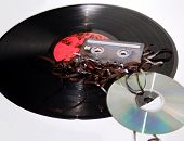 stock photo of lps  - Record - JPG