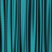 picture of lace-curtain  - Curtain blue lace generated texture or background - JPG