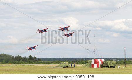 Mig-29 On Airshow Kubinka