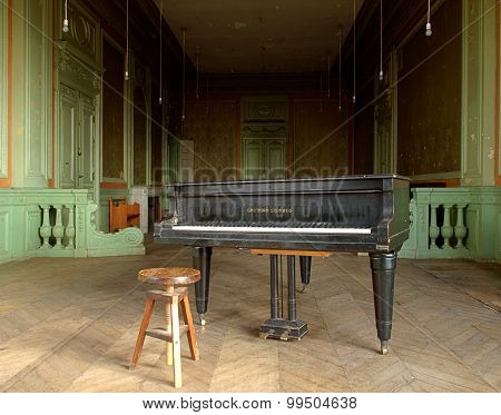 Piano manufacturer.