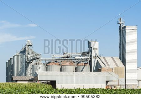 Factory for storage cereals