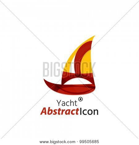 Abstract geometric business corporate emblem. Logo icon design for travel or any other idea