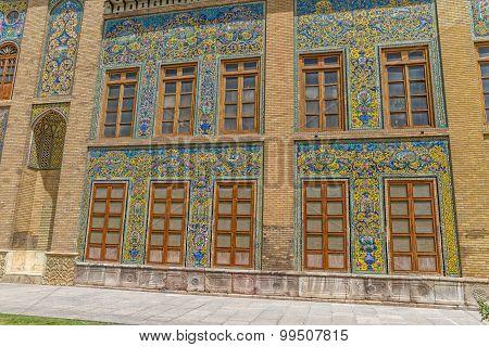 Golestan Palace facade