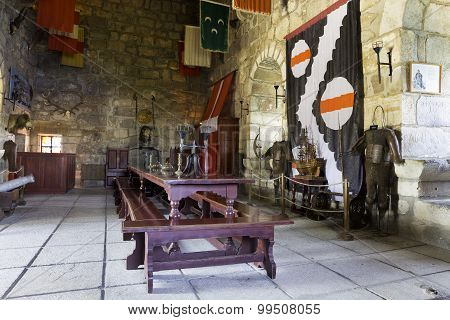 Inside Of Bodrum Castle