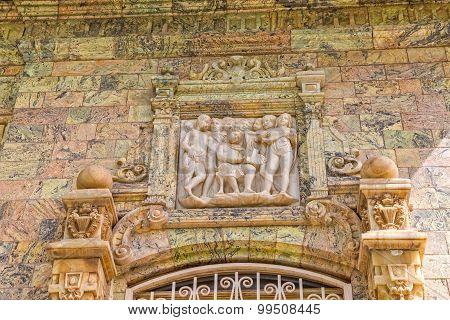 Saadabad Palace relief