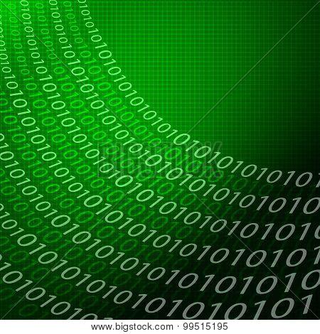 Digital Matrix Background